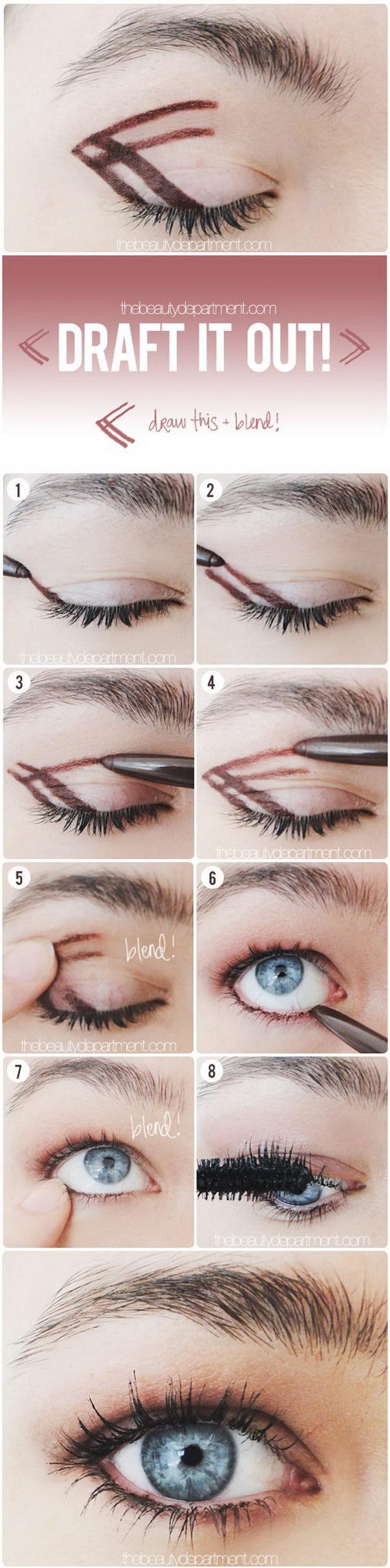 Easy Smokey Eye Beauti Tips.