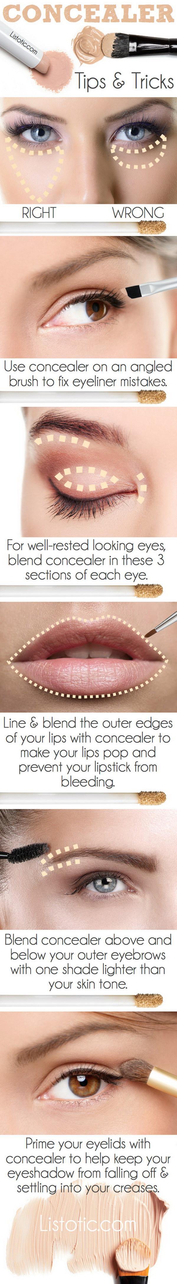 Concealer Tips & Tricks.