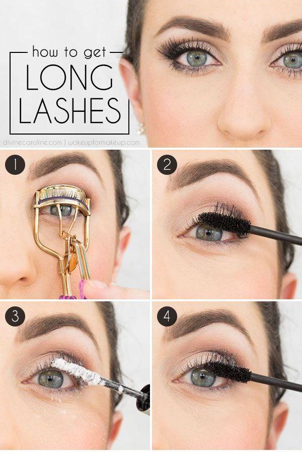 Use Baby Powder To Make Your Eyelashes Look Longer.