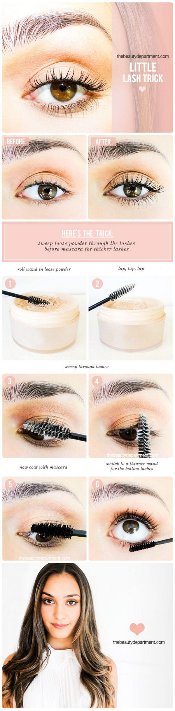 Beauty Tricks To Get Thicker Lashes.