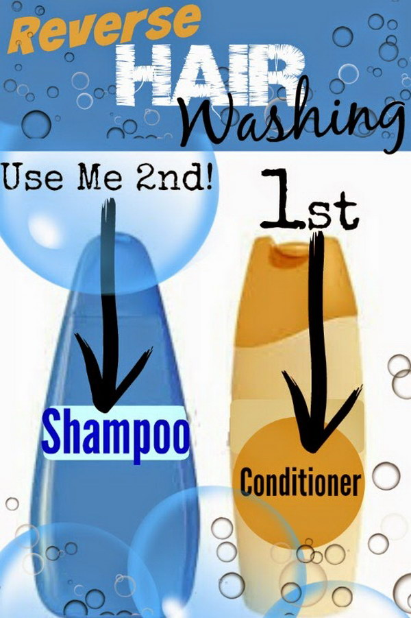 Reverse Hair Washing.