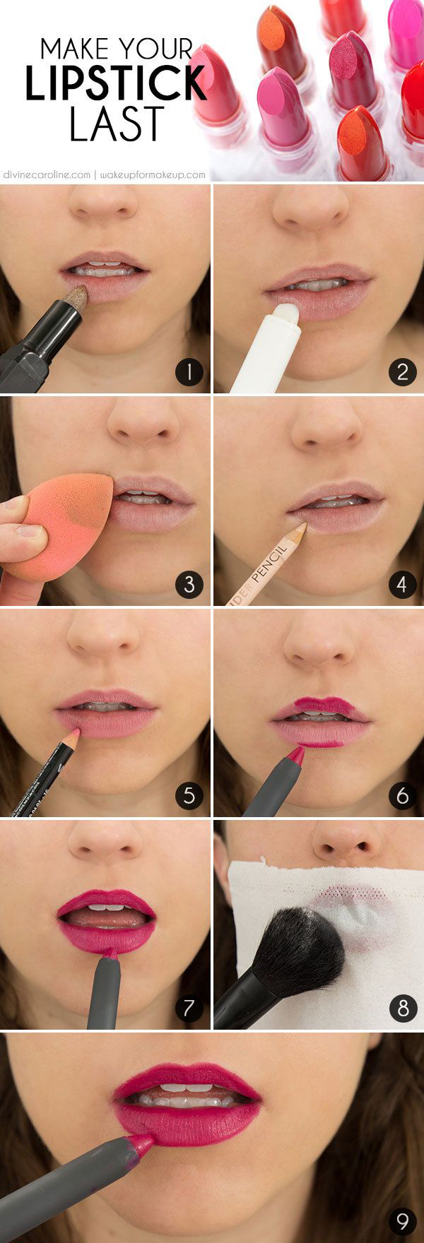 Make Your Lip Color Last All Day.