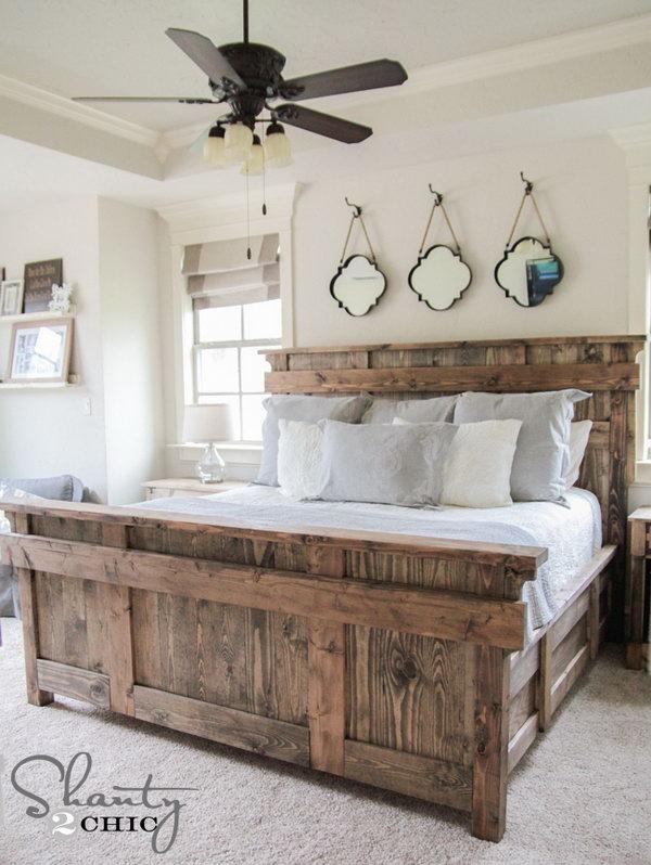 10 diy bed frame