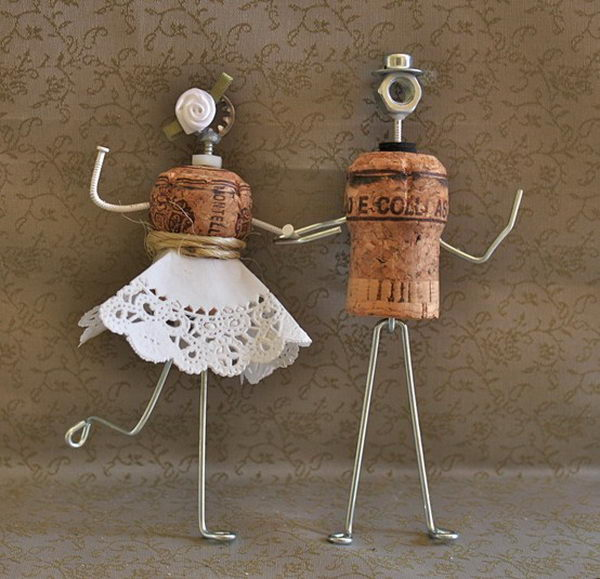 30 amazing wine cork crafts projects