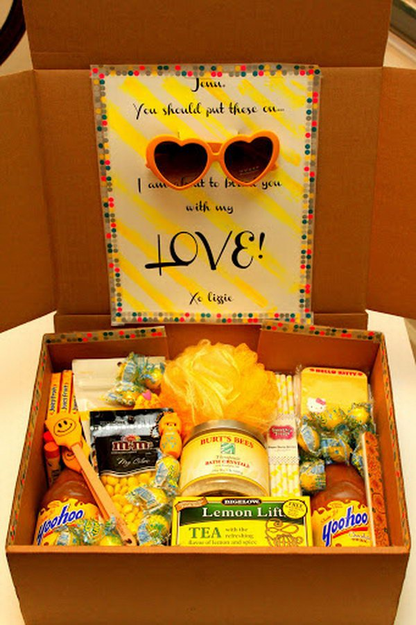 19 college care package ideas