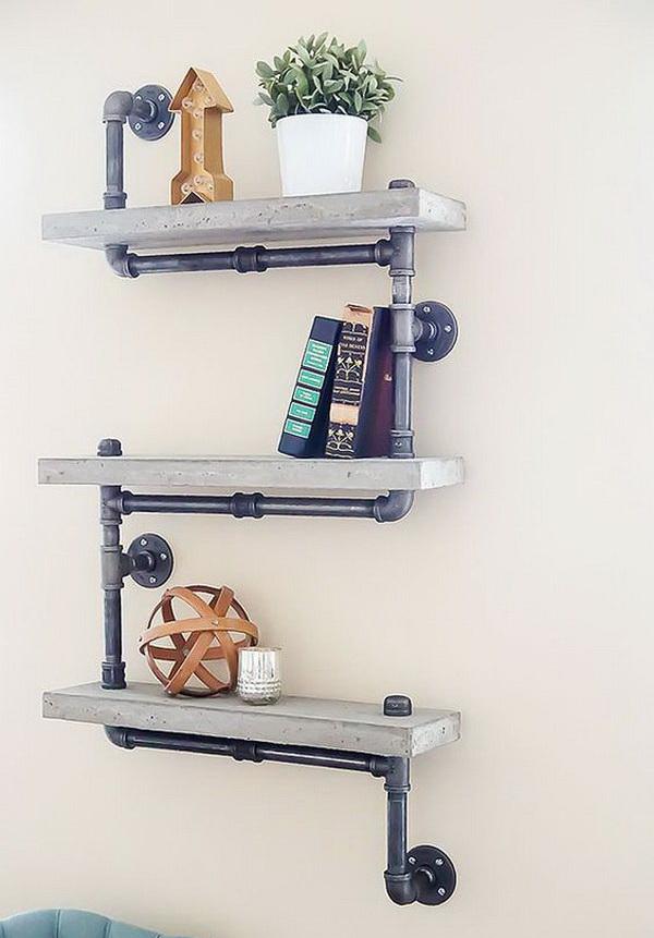 7 diy shelves with tutorials