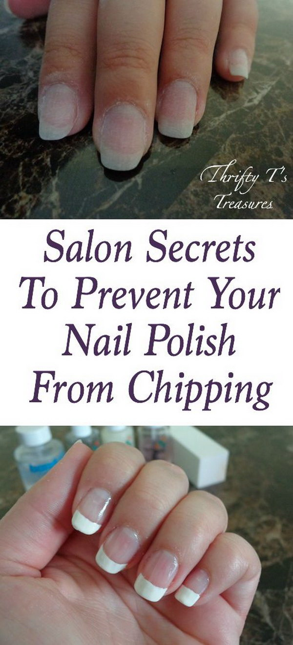 Secrets To Prevent Your Nail Polish From Clipping.