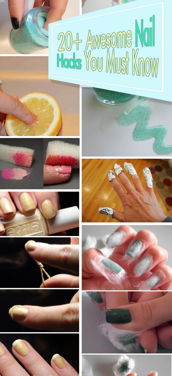 Awesome Nail Hacks You Must Know!