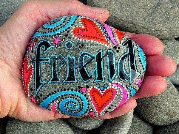 Inspiring Creativity : Painted Rocks.
