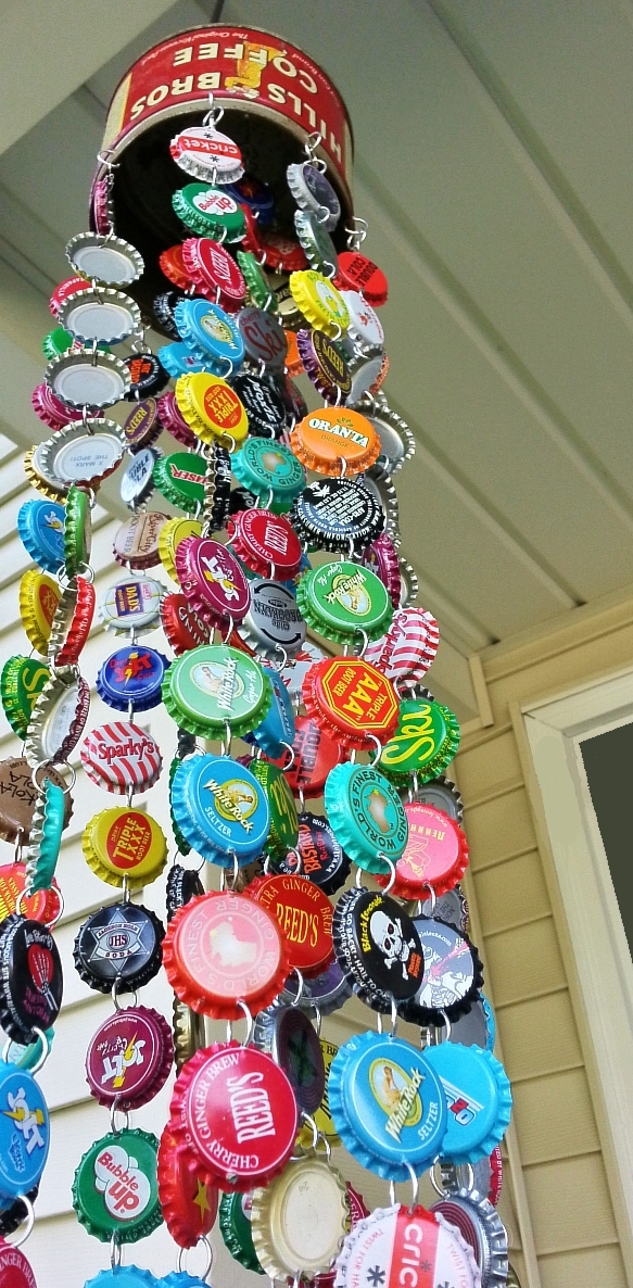 DIY Bottle Cap Chime