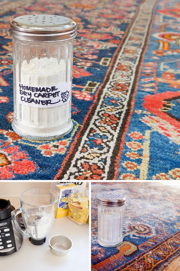 Homemade Dry Carpet Cleaner.