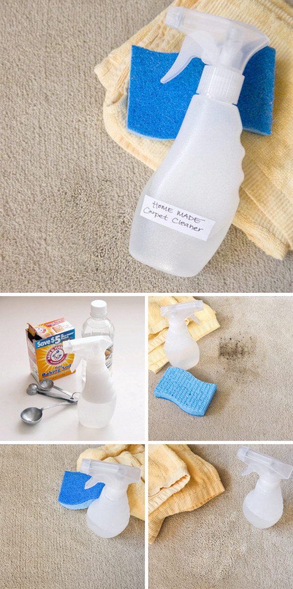 Powerful Homemade Carpet Cleaner.