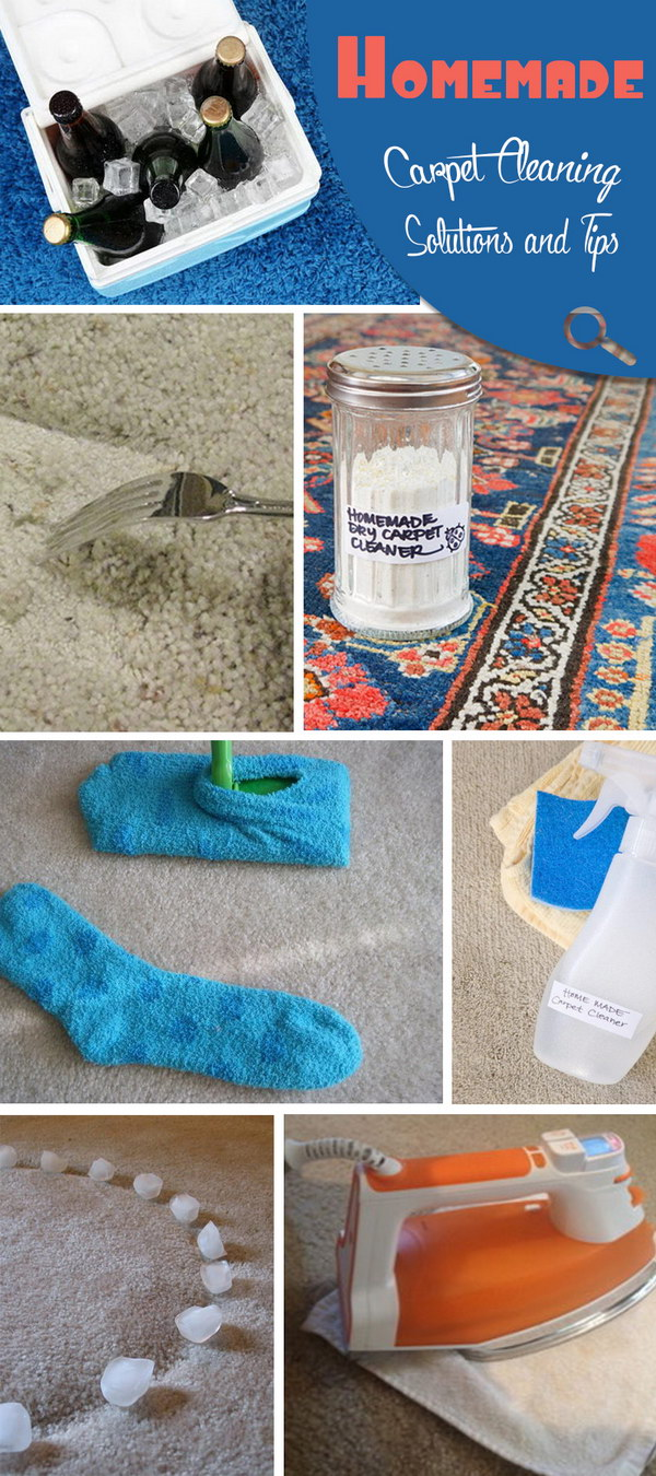 Homemade Carpet Cleaning Solutions and Tips!