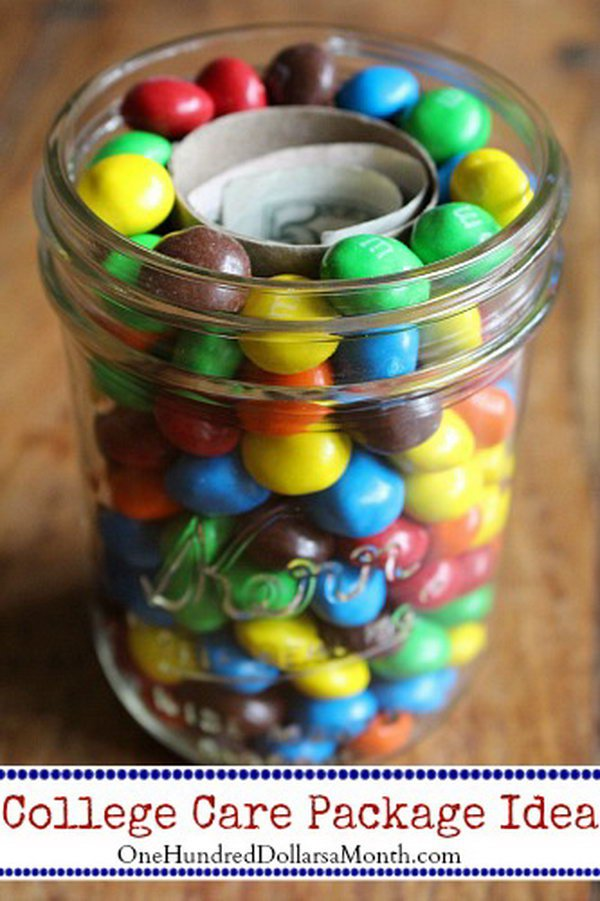 M&M's and Money College Care Packages