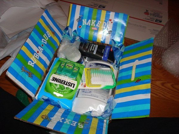 Toiletry College Care Package