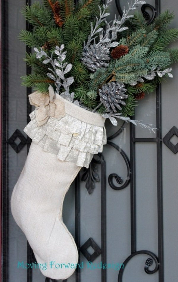 Christmas Door Stockings.