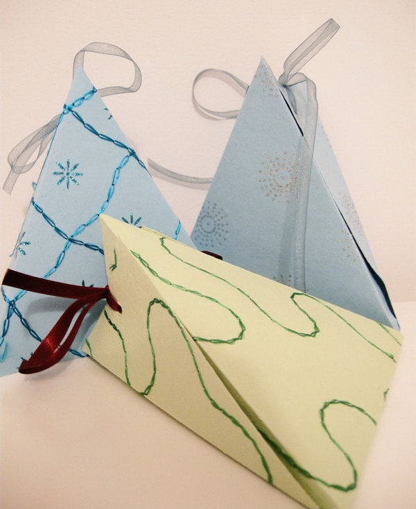 Last Minute Gift Boxes. See how to make it