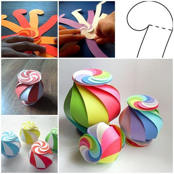 Ten Sided Globe Gift Box. Learn how to make it