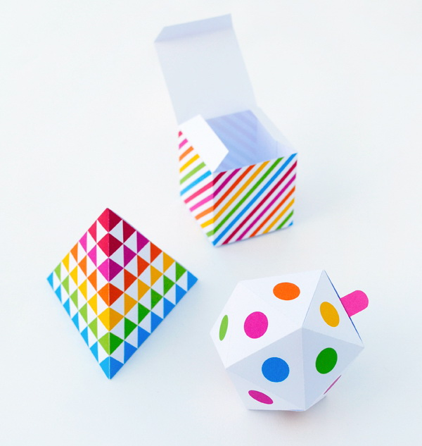Geometric Patterned Gift Box. Get the tutorial