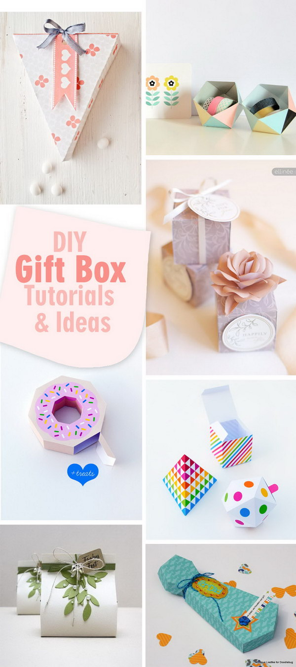 Diy Gift Box Tutorials Ideas