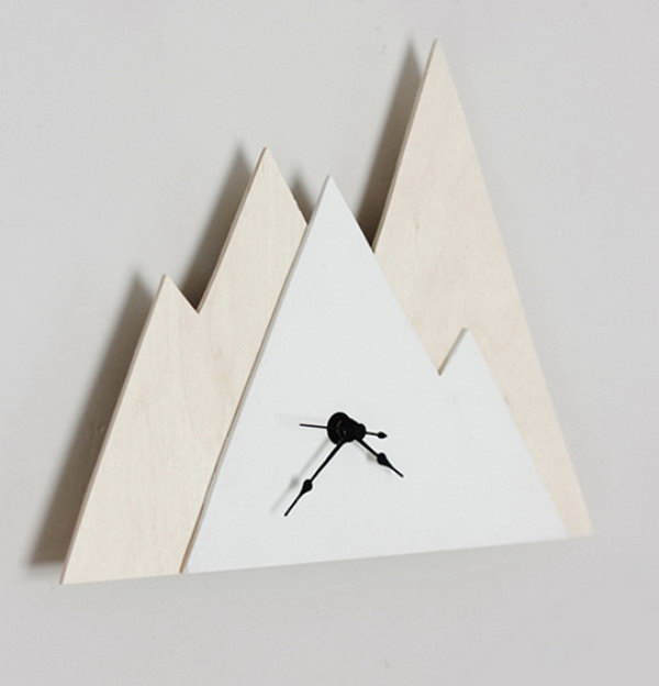Minimal Mountain Clock. See how