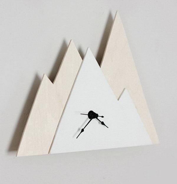 Minimal Mountain Clock. See how