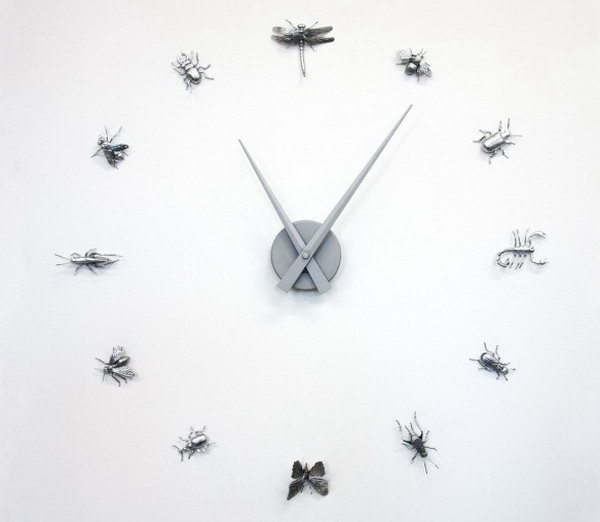 Curiosities Wall Clock. Check out the details
