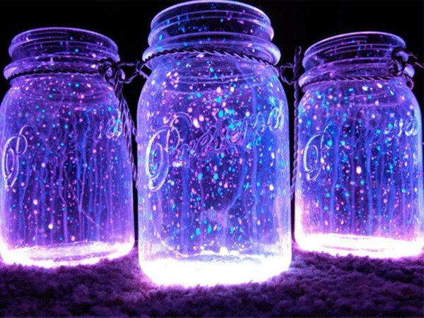 Diy Galaxy Jars. Video tutorial