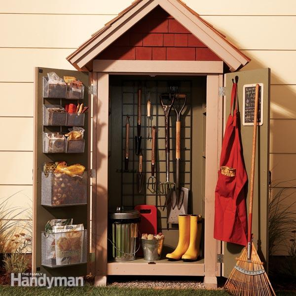 20 budget friendly garden storage ideas