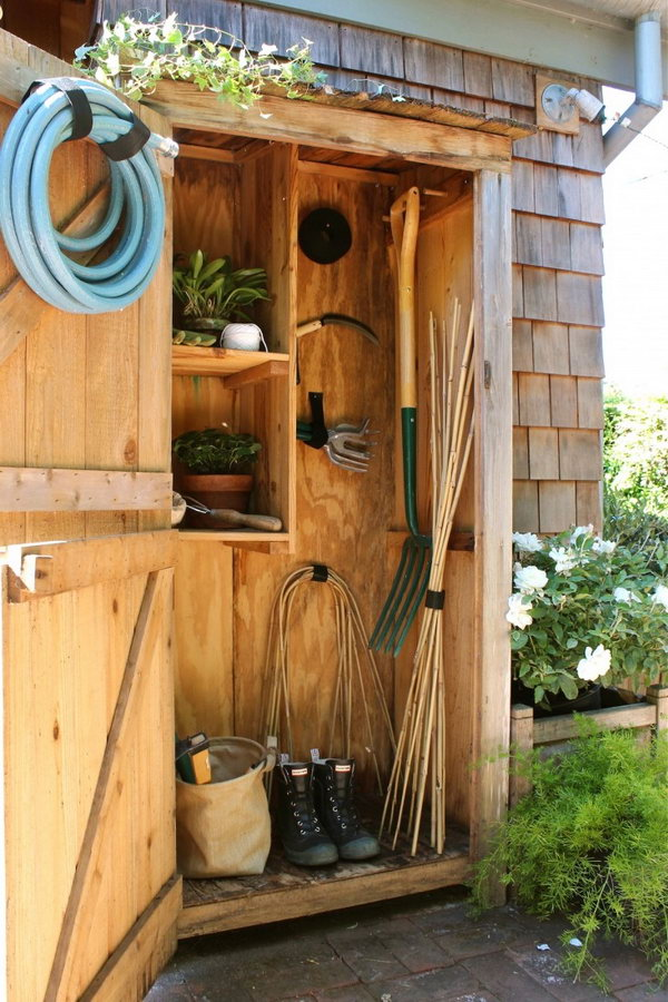 Garden Tool Storage Ideas img_7264 Basic Tool Storage With A Cupboard Size Storage Unit