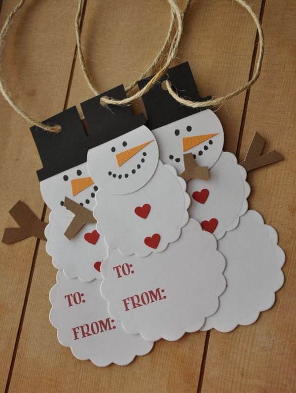 Creative Diy Gift Tag Ideas Tutorials