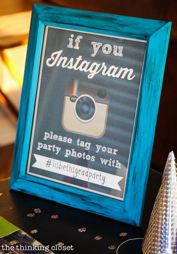 FREE 'If You Instagram' Party Printable.