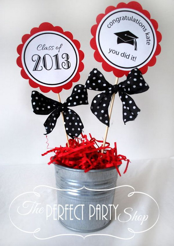 Graduation Centerpiece Stick Listing.