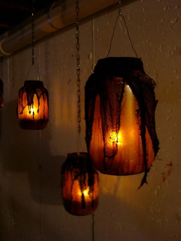 DIY Witch Mason Jars