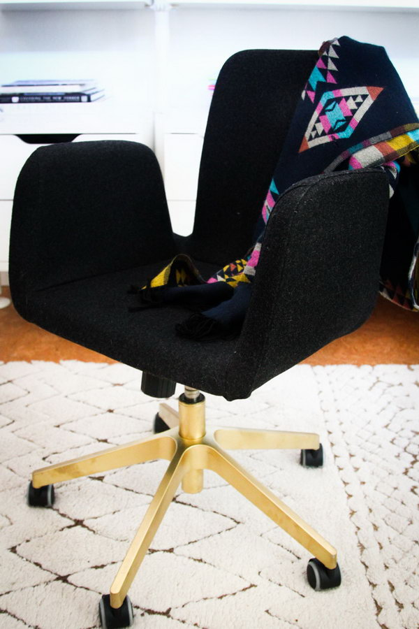 Office Seating Hack. See the tutorial