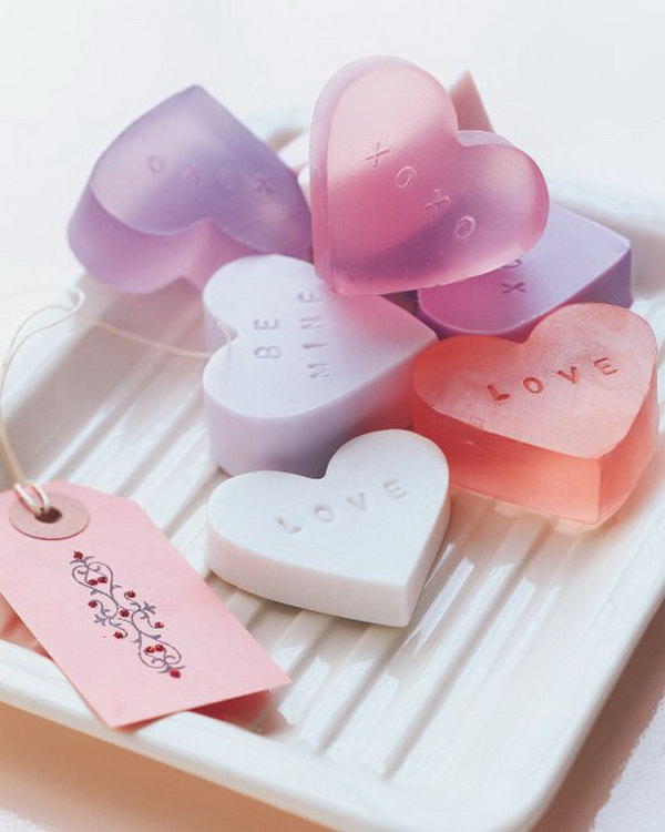 DIY Heart Shaped Soap Tutorial