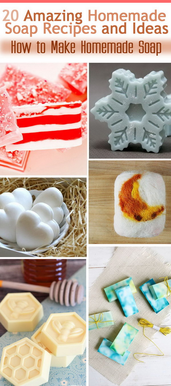 Great Homemade Soap Recipes and Ideas!