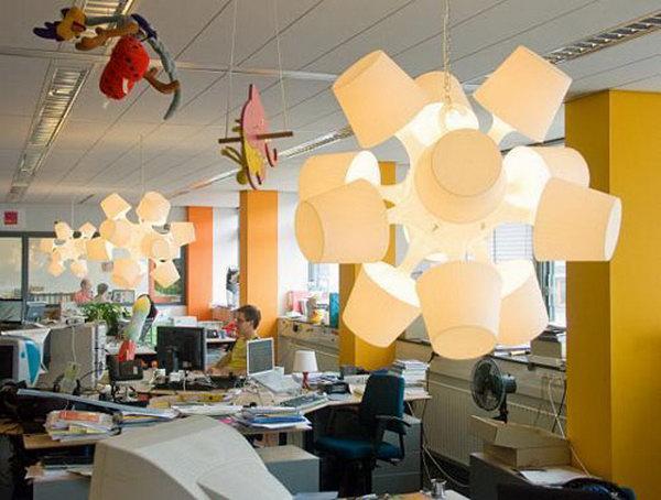 Lampan Light Sculpture. Get the tutorial