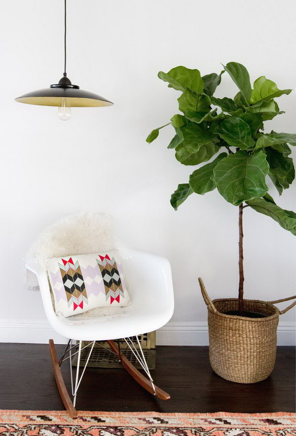 Turn Inexpensive Fruit Bowl from IKEA into a Chic Pendant Light. Check out the tutorial