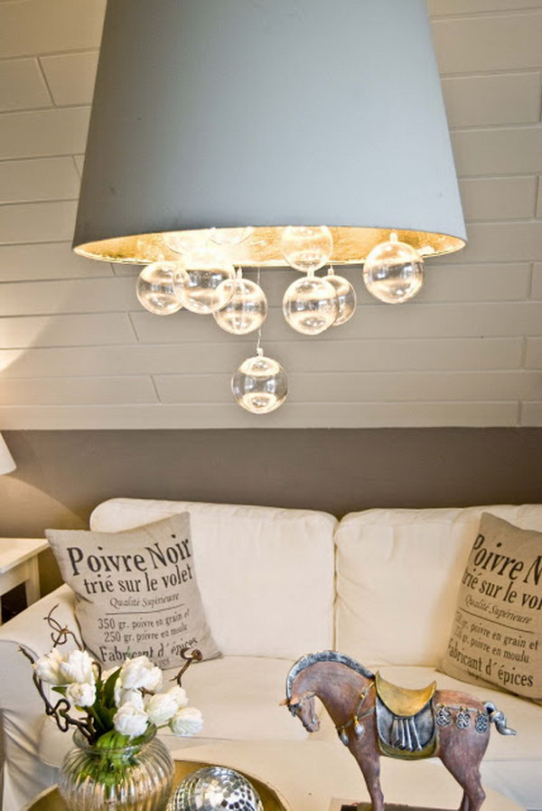 Bubble Chandelier. See more details