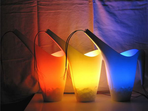 A Watering Can of Light. Check out the tutorial