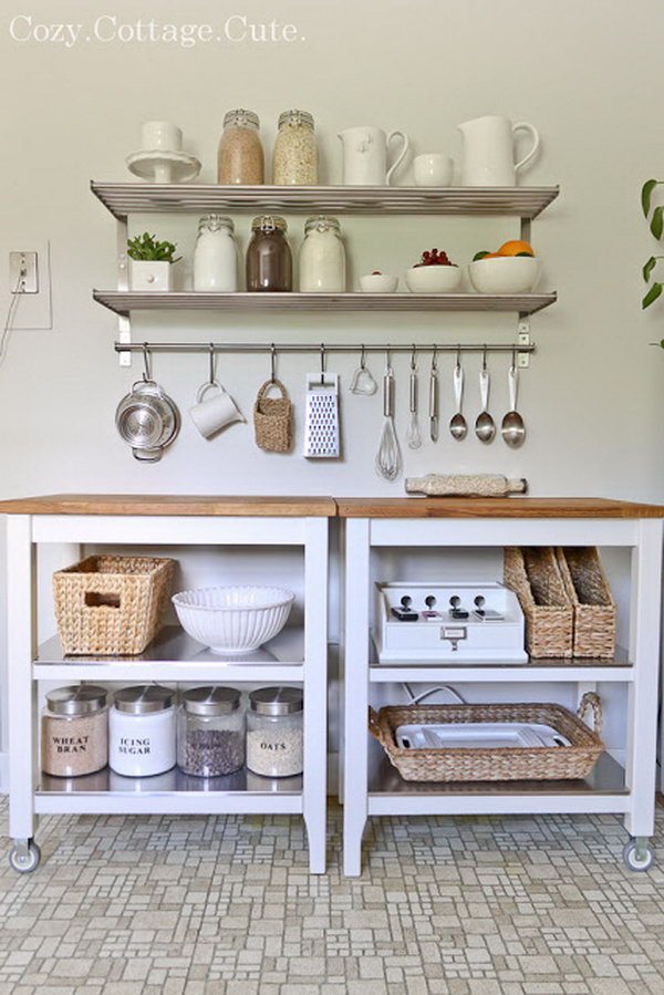 Ikea Kitchen Carts for Counter Space and Storage. See more details