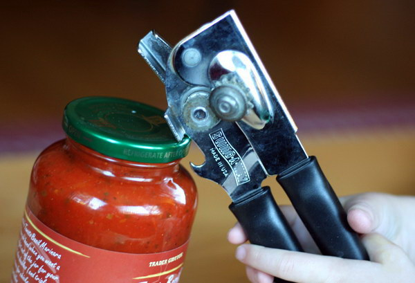 Open Jars Instantly with a Bottle Opener.