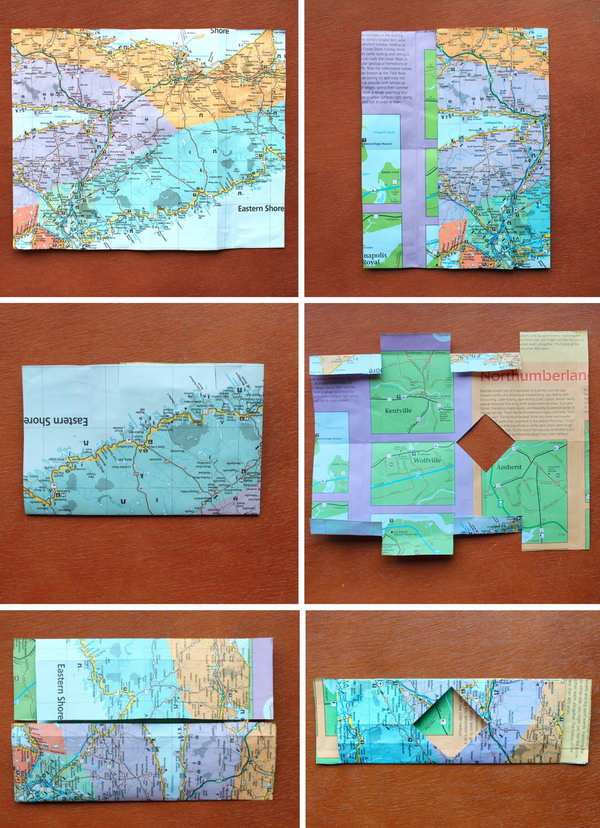 It's an amazing way to give a gift card or money for a present with this DIY paper wallet.