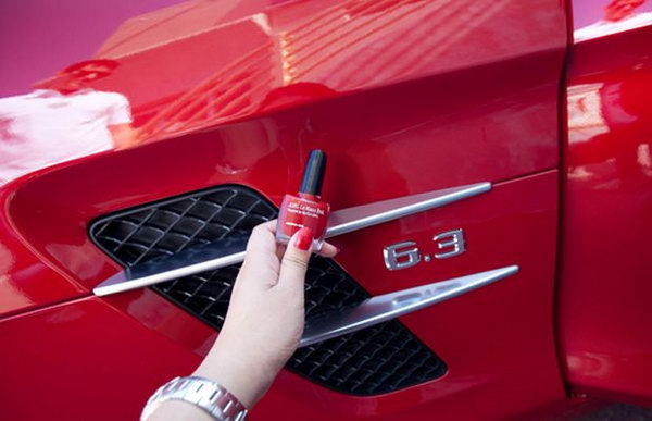 Fix Car Scratches With Nail Polish