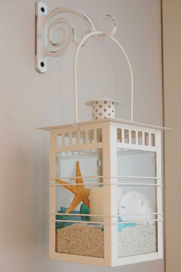 DIY Beach Lanterns