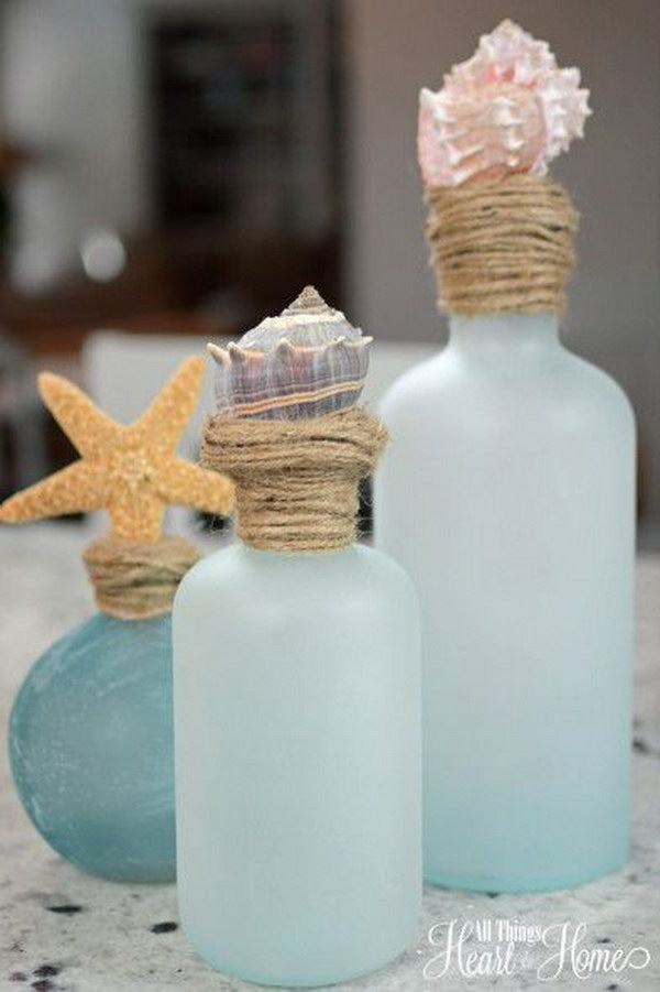 Cute Diy Home Decor Ideas: DIY Ideas & Tutorials For Nautical Home Decoration