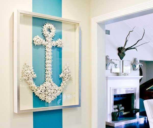 diy ideas & tutorials for nautical home decoration