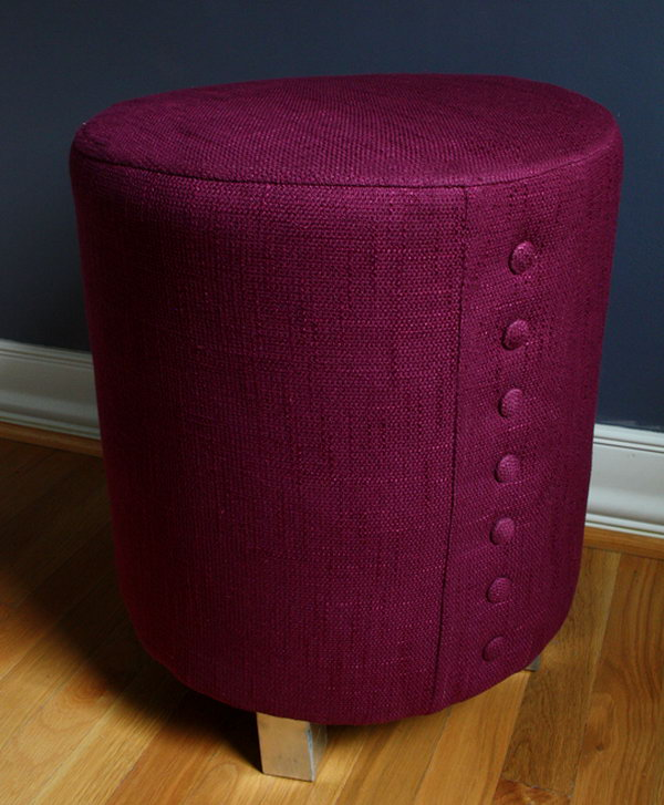 Fancy Powder Room Ottoman. See more directions