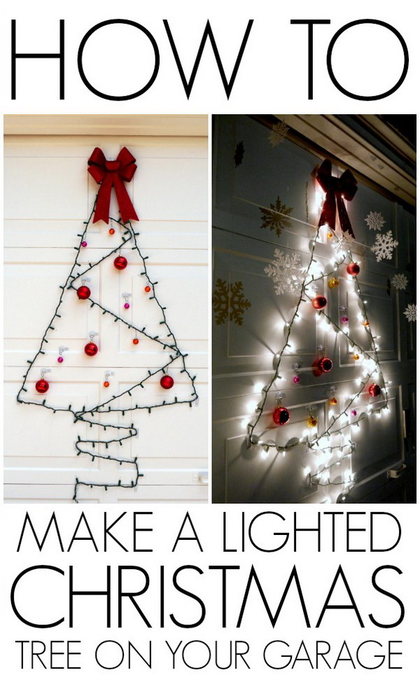 20 most beautiful outdoor decoration ideas for christmas Diy outside christmas decorating ideas